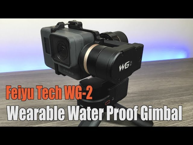 Feiyu Tech WG2 Water Proof Gimbal Review