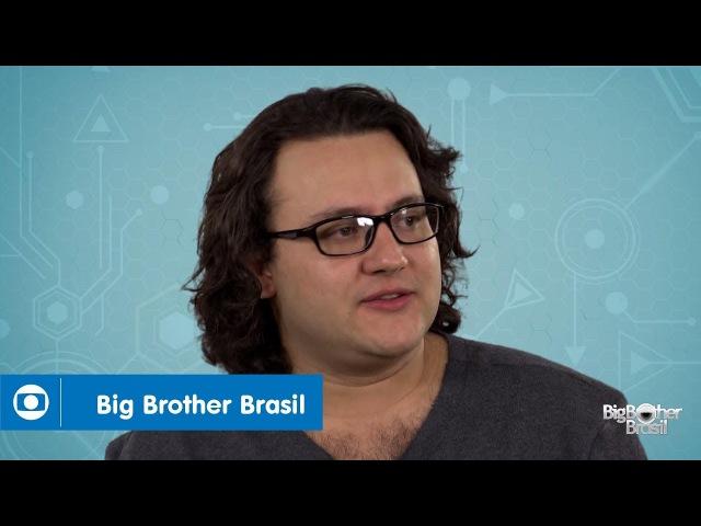 BBB18 Diego é escritor do PA e tem 31 anos
