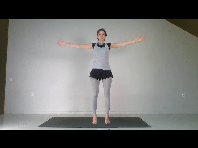 Йогатерапия позвоночник мышцы суставы кровообращение Урок 13 Снятие головн