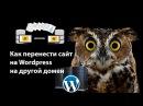 Перенос Wordpress с хостинг на хостинг при помощи Duplicator