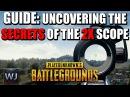 Секрет прицела x2 в Playerunknown's Battlegrounds | PUBG