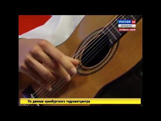 Tango en Skai by Roland Dyens - performed by M.Karyakin on TV
