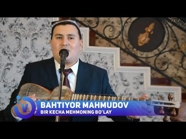 Bahtiyor Mahmudov - Bir kecha mehmoning bo'lay (jonli ijro) 2018