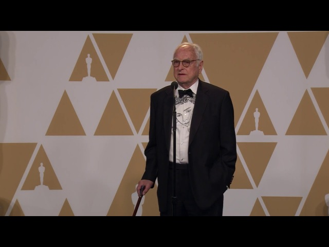 Call Me By Your Name - 2018 Oscars - Best Adapted Screenplay - James Ivory - Backstage Speech