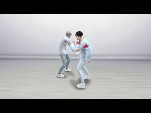 BTS - DNA 고민보다 GO Dance [The Sims 4 Version]