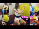 BLOW TO POP BALLOONS || MILF WITH BALLOONS || LATEX BALLOONS POPPING || BLOW BALLOON UNTIL IT POPS