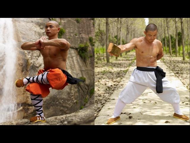 Суровые тренировки НАСТОЯЩЕГО ШАОЛИНЬСКОГО МОНАХА - Shifu Yan Lei