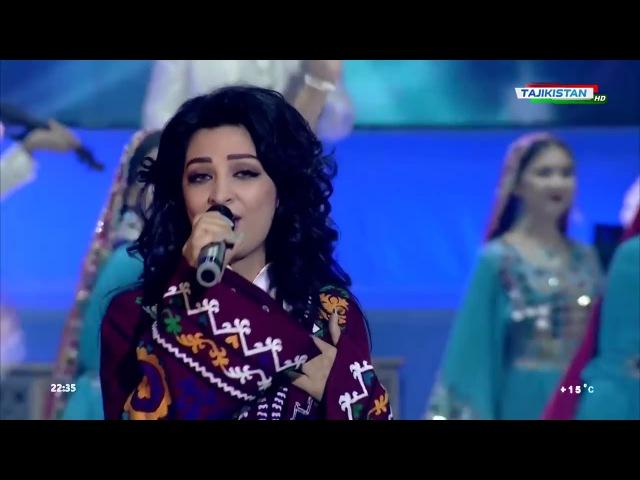 Ghezaal Enayat concert in Tajikistan Doste Badet Medaram