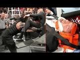 Roman Reigns destroys Triple H after Match  Roman Reigns vs Sheamus &amp Triple h