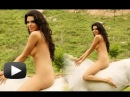 Hot Sherlyn Chopra Sits Naked On A White Horse - Kamasutra 3D