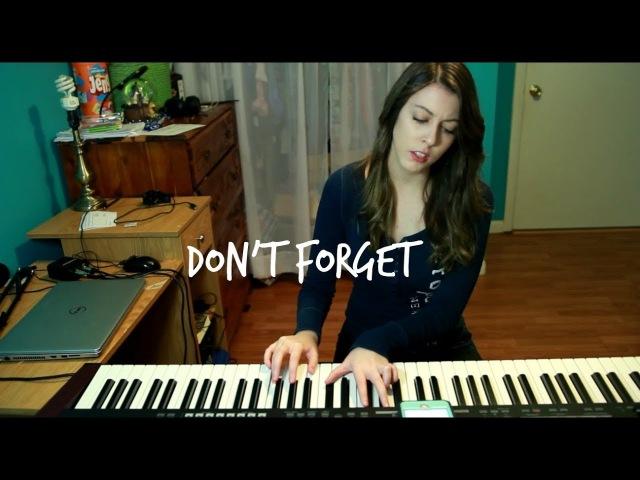 Don't Forget - Demi Lovato (Cover)   Keisha Nicole