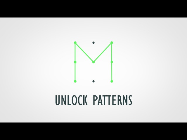 How Many Different Unlock Patterns Could You Create