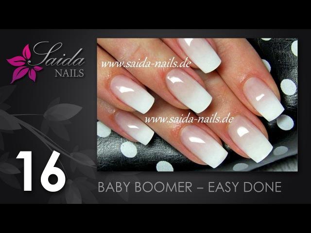 Babyboomer leicht gemacht (Saida Nails | Nailart leicht gemalt)