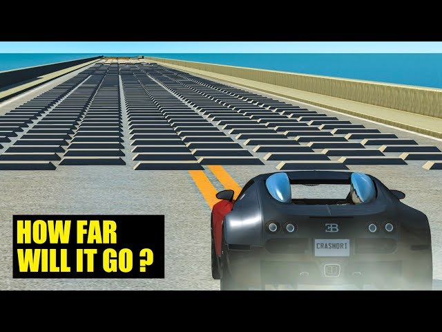 HOW FAR WILL IT GO? 4 - BeamNG Drive Crashes
