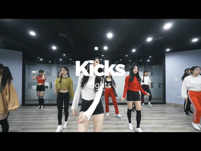YELLZ | GIRLISH CLASS | LIGHT - KICKS | E DANCE STUDIO | 걸리쉬안무