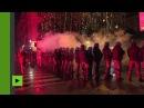 La police italienne disperse violemment des antifas à Modène