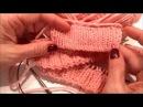 Мастер Класс: Как набрать петли для эластичной резинки! - 3 варианта