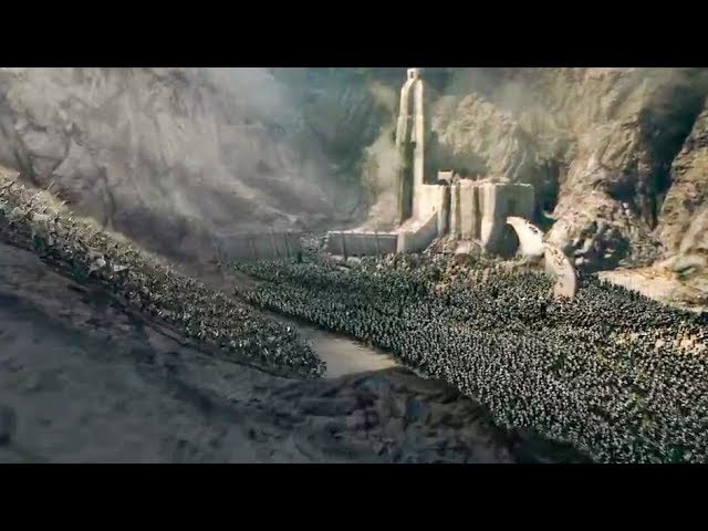 The Battle of Helm's Deep in 40 seconds or less