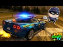 БЕШЕНЫЕ ГОНКИ на ПОЛИЦЕЙСКОЙ МАШИНЕ видео про машинки для детей Need for Speed Hot Pursuit