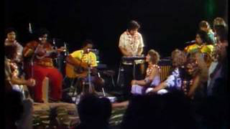 My Flower Makaha Sons of Ni'ihau Skippy and Iz on Captain and Tennille show