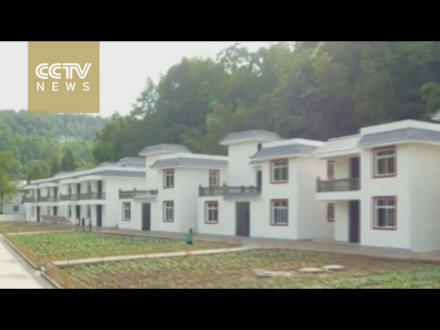 Relocation program benefits villagers in China's Sichuan