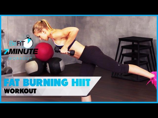 Bikini Body Fat-Burning HIIT Workout: 7 Minute Workout Series