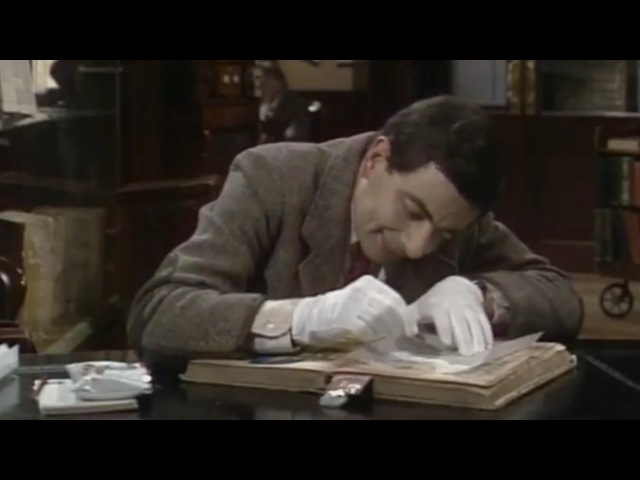 Library   Special Episode   Classic Mr.Bean