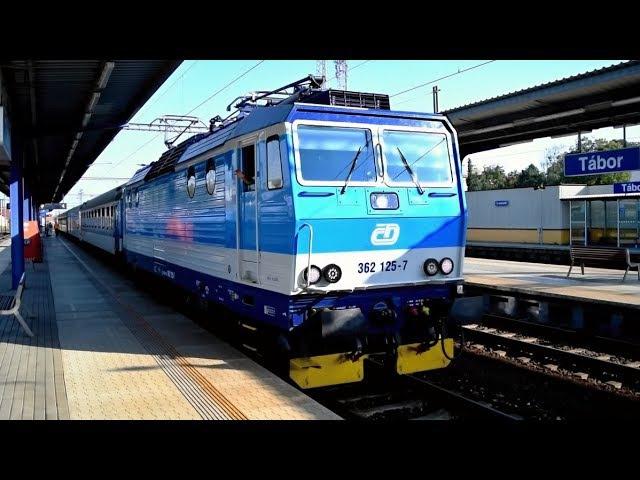 Vlaky Tábor ● 01.08.2017