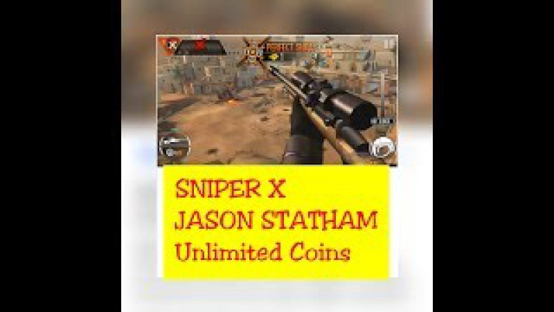SNIPER X WITH JASON STATHAM -Android - Unlimited Money - Hindi