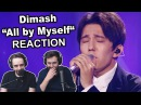 Dimash All by Myself Ep 9 Singers Reaction