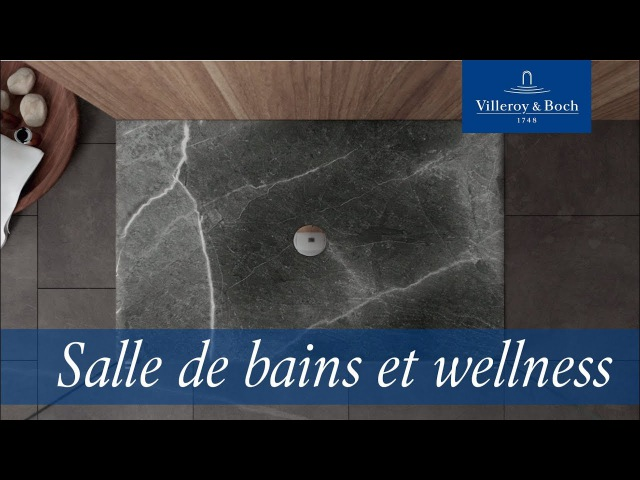Receveurs de douche ViPrint Inspired by Nature Villeroy Boch