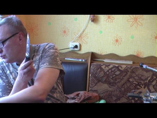 Нож Тукан Сталь М390 Заточка