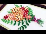 Quilling Flower For beginner Learning Video 8