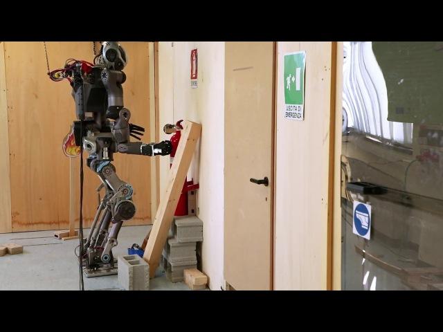 WALK-MAN робот-пожарный