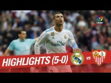 Обзор матча | Ла Лига (15-й тур) | Реал Мадрид - Севилья (5-0) | 09.12.2017