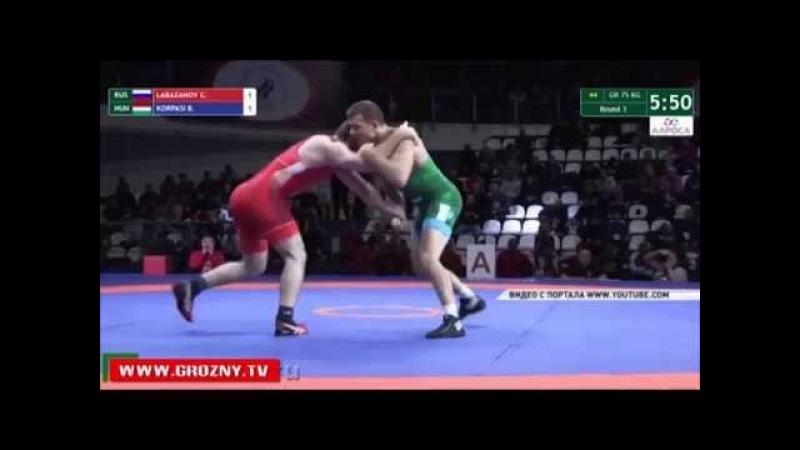 Чемпион мира по греко-римской борьбе Чингиз Лабазанов провел мастер-класс для начинающих спортсменов