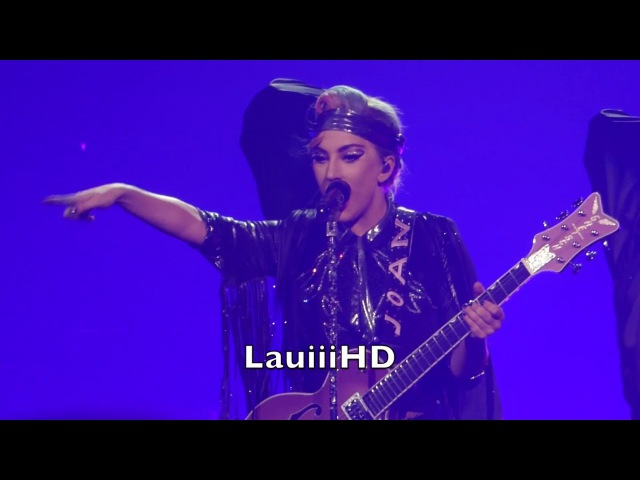Lady Gaga Poker Face Live in Antwerp Belgium 22 01 2018 FULL HD