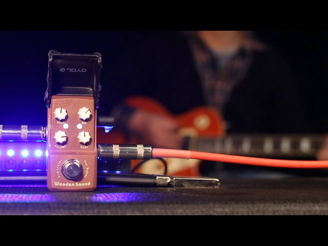 Wooden Sound JOYO IRONMAN SERIES PEDAL (Official Demo Video)