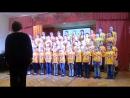 Фестиваль Самодеятельного творчества посвященный 45-летию Красносельского р-на. Сводный хор. Исполняем: Гимн ВХС 《Голос》,《попурр