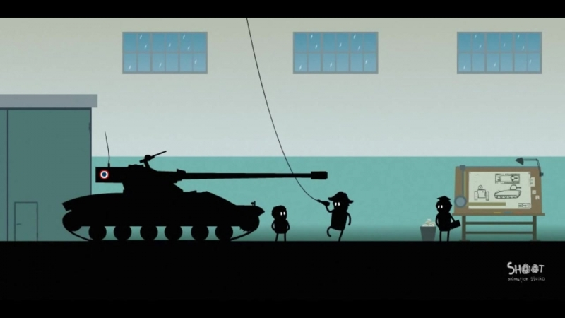 Мультик про World Of Tanks. Истории танкистов. Bat.-Chatillon 25 t.