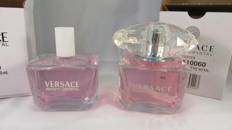Чем отличается оригинальный тестер Versace bright crystal от реплики