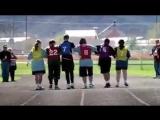 Как поступают дети с синдромом дауна, когда один из них падает на соревнованиях. Урок для всех