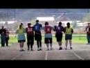 """Как поступают дети с синдромом дауна, когда один из них падает на соревнованиях. Урок для всех """"нормальных"""" людей."""