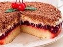Вишнёвый пирог наслаждение