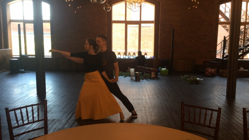 Потрясающий свадебный танец. Jessie Ware - Say you love me