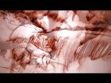 Песочная анимация - Я убит подо Ржевом (худ. Тори Воробьёва, музыка И.Карпов, ст