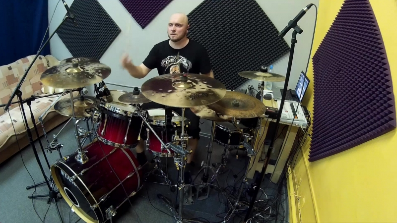 7 H.TARGET new album drums tracking 3
