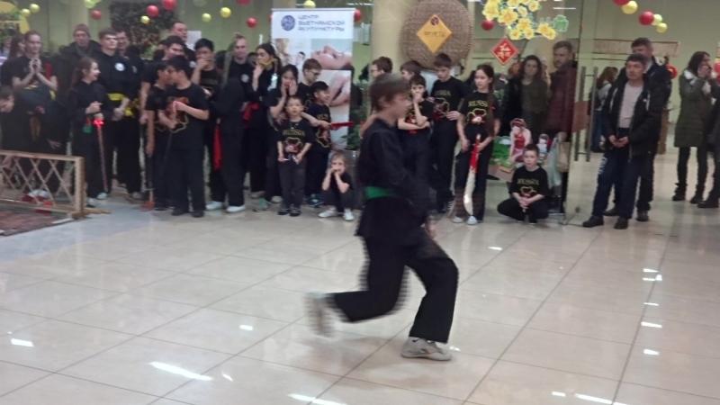 Ката какого-то там вьетнамского боевого искусства