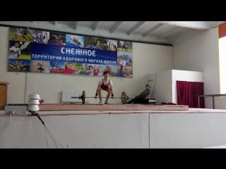Сериков Дмитрий толчек 63кг