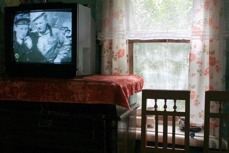 Российская деревня глазами русского немца - фотоколлаж о русской деревне